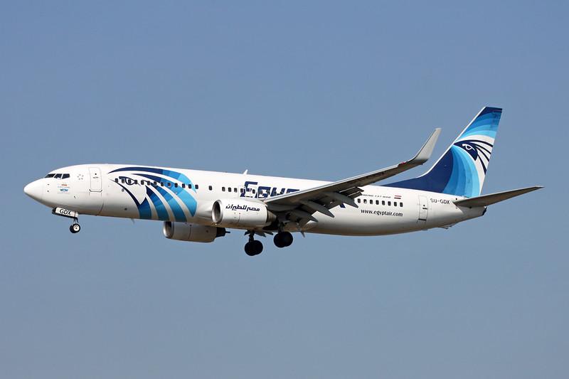 """SU-GDX Boeing 737-866 c/n 40757 Frankfurt/EDDF/FRA 24-09-16 """"Suez Canal"""""""