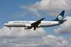 """TC-MAO Boeing 737-86N """"KTHY - Kibris Turk Hava Yollari"""" c/n 28645 Heathrow/EGLL/LHR """"35 years in the skies, with pride"""""""