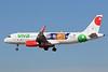 """XA-VAP Airbus A320-232 c/n 6888 Las Vegas-McCarran/KLAS/LAS 05-02-18 """"Tecate Pal Norte"""""""