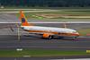 """D-ATUF Boeing 737-8K5 c/n 34687 Dusseldorf/EDDL/DUS 19-07-09 """"Kreuzfahrten"""""""