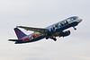 """OO-SND Airbus A320-214 c/n 1838 Brussels/EBBR/BRU 04-06-19 """"Smurfs"""""""