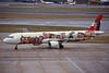 """OE-LBB Airbus A321-111 c/n 0570 Heathrow/EGLL/LHR 15-09-98 """"1000 years of Austria"""" (35mm slide)"""