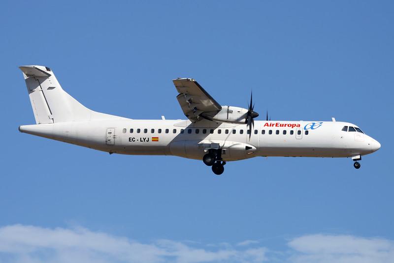 "EC-LYJ Aerospatiale ATR-72-212 ""Swiftair"" c/n 468 Palma/LEPA/PMI 15-06-16 ""Air Europa"""