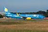 """D-AHFZ Boeing 737-8K5 c/n 30883 Frankfurt/EDDF/FRA 01-07-10 """"GluecksbringAIR"""""""