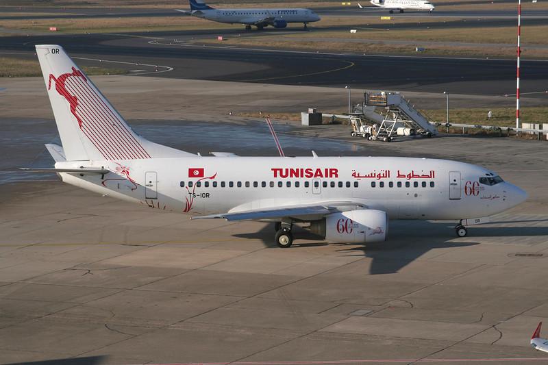 "TS-IOR Boeing 737-6H3 c/n 29502 Dusseldorf/EDDL/DUS 30-01-09 ""60th Anniversary"""