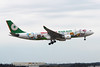 "B-16311 Airbus A330-203 c/n 693 Tokyo-Narita/RJAA/NRT 03-03-13 ""Hello Kitty"""
