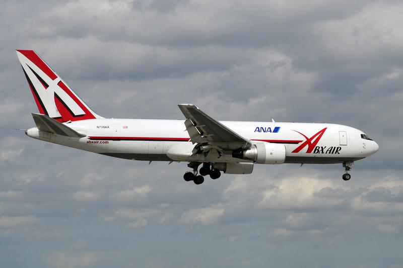 "N739AX Boeing 767-232F ""ABX Air"" c/n 22216 Miami/KMIA/MIA 04-12-08"