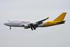 "N743CK Boeing 747-446BCF ""Kalitta Air"" c/n 26350 Brussels/EBBR/BRU 03-04-14 ""DHL"""