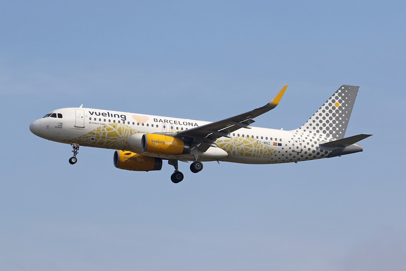 "EC-MNZ Airbus A320-232 c/n <a href=""https://www.ctaeropics.com/search#q=c/n%207351"">7351 </a> Palma/LEPA/PMI 04-07-21 ""Barcelona"""