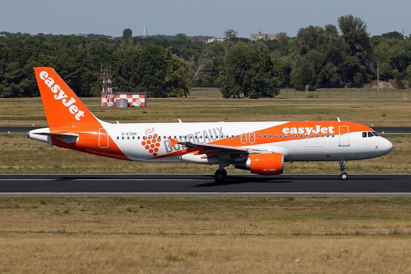 "G-EZUH Airbus A320-214 c/n 4708 Berlin-Tegel/EDDT/TXL 22-08-18 ""Bordeaux"""