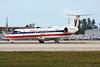 """N803AE Embraer ERJ-140LR c/n 145483 Miami/KMIA/MIA 05-12-08 """"100th RJ"""""""