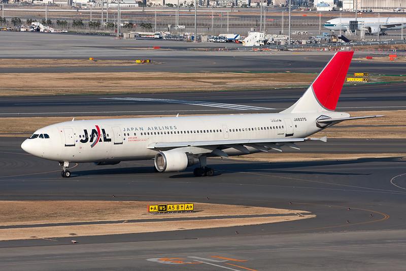 JA8375 Airbus A300B4-622R c/n 602 Tokyo-Haneda/RJTT/HND 26-02-11