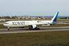 "9K-AOK Boeing 777-300ER c/n 62568 Istanbul - Ataturk/LTBA/IST 09-10-18 ""25/26 February Kuwait National Liberation Days"""