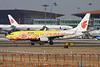 "B-5198 Boeing 737-89L c/n 36491 Beijing-Capital/ZBAA/PEK 08-11-12 ""Yellow Peony"""