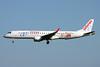 "EC-LFZ Embraer Emb-195-200LR c/n 19000357 Paris-Orly/LFPO/ORY 08-06-15 ""25 anys Canal 4"""