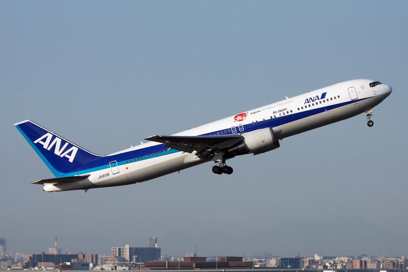 "JA613A Boeing 767-381ER c/n 33507 Tokyo-Haneda/RJTT/HND 26-02-11 ""Japan Endless Discovery"""