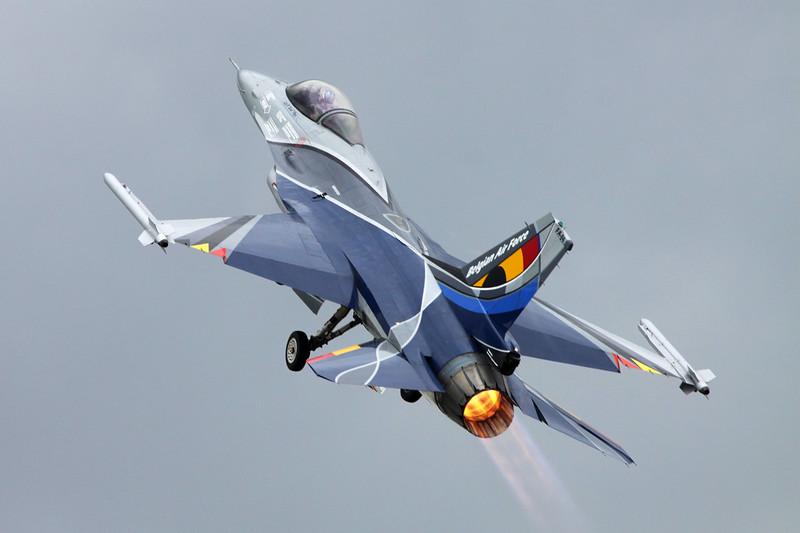 "FA-84 General Dynamics F-16AM Fighting Falcon ""Belgian Air Component"" c/n 6H-84 Gilze-Rijen/EHGR 20-06-14 ""2014 Display Scheme"""