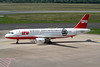 "D-ALTB Airbus A320-214 c/n 1385 Dusseldorf/EDDL/DUS 10-06-06 ""Borussia Moenchengladbach"""