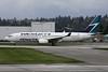 """C-GAWS Boeing 737-8CT c/n 38880 Vancouver/CYVR/YVR """"#100 Boeing 737 NG"""" titles"""