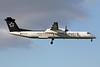 """OE-LGR de Havilland Canada DHC-8Q-402 c/n 4045 Heathrow/EGLL/LHR 26-09-15 """"Star Alliance"""""""