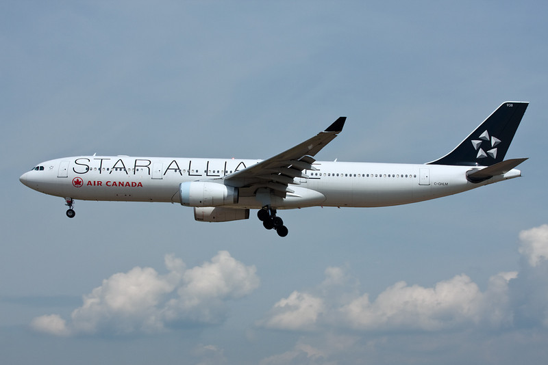 C-GHLM Airbus A330-343X c/n 419 Frankfurt/EDDF/FRA 01-07-10
