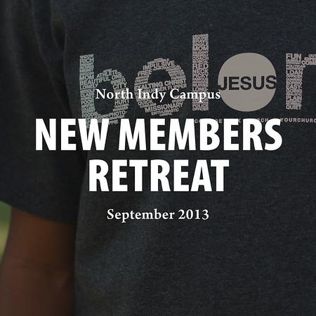 New Members Retreat 2013