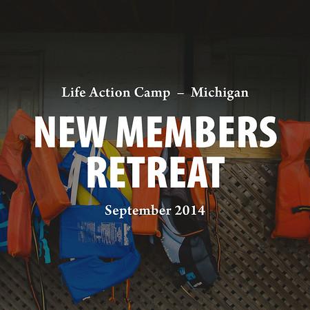New Members Retreat 2014