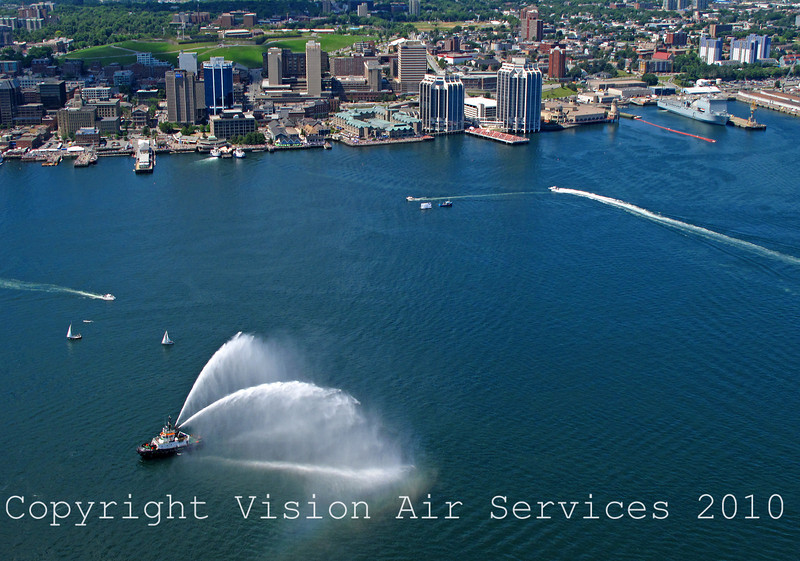 FireBoat w HalifaxWaterfront