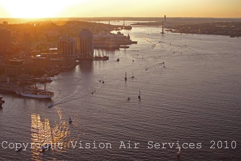 Halifax Downtown Sunset