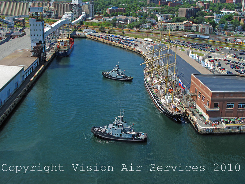 Pier21Aerial TugBoats