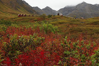 Hatcher Pass Lodge. north of Palmer, Alaska