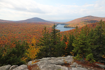 Owl's Head Lookout, Groton State Forest, VT October 2018