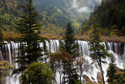 Jiuzhai Valley National Park, Sichuan, China October 2014