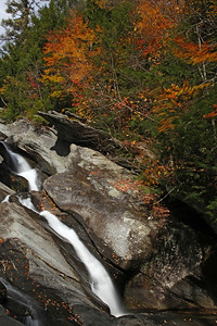 Hamilton Falls Natural Area, Jamaica, Vermont October 2010