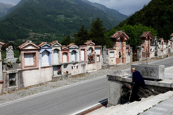 The old cemetery of Bagolino
