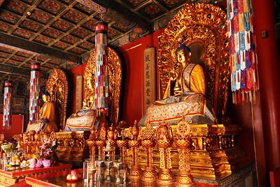 Yongyou Hall Buddhas