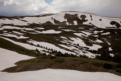 Loveland Pass. Arapaho National Forest, Colorado