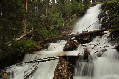 Fern Falls Rocky Mountain National Park, Colorado
