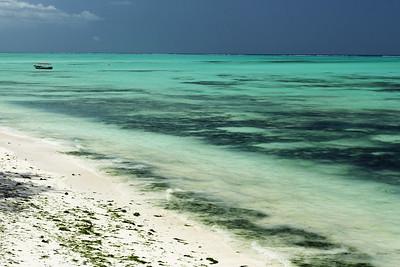 Pongwe beach and Indian Ocean