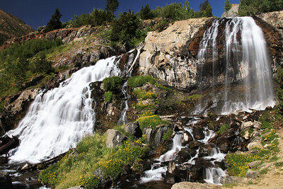 Lundy Canyon Falls