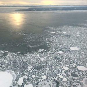 Cook Inlet Ice Patterns