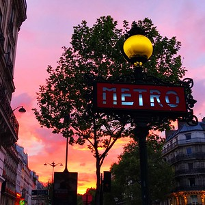 Sunset in Saint Germain