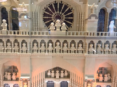 LEGO model of Notre-Dame Cathedral