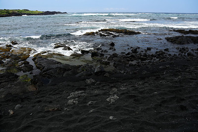 Punalu'u Black Sand Beach County Park, HI