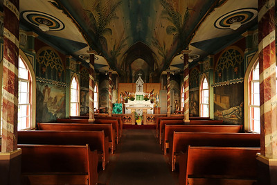 """The Painted Church"" St. Benedict's Catholic Church"
