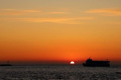 Ferry Sunrise