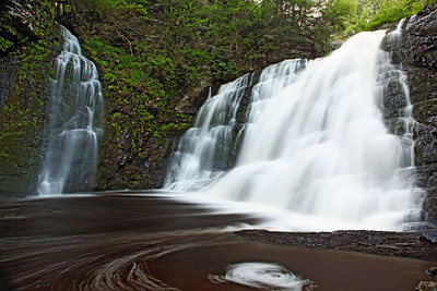 Lower Raymondskill Falls, Delaware Gap National Recreation Area, PA