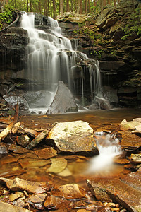 Dutchman Falls, Wyoming State Forest, PA