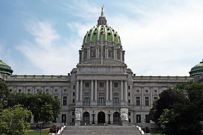 Pennsylvania State Capitol. Harrisburg, PA