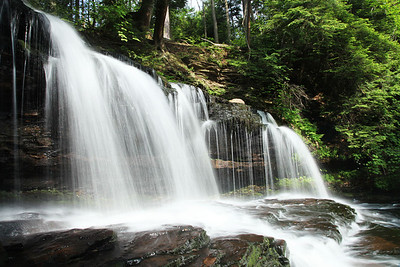 Mohawk Falls, Ricketts Glen State Park, PA